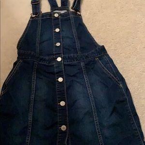 Gap kids overalls to skirt